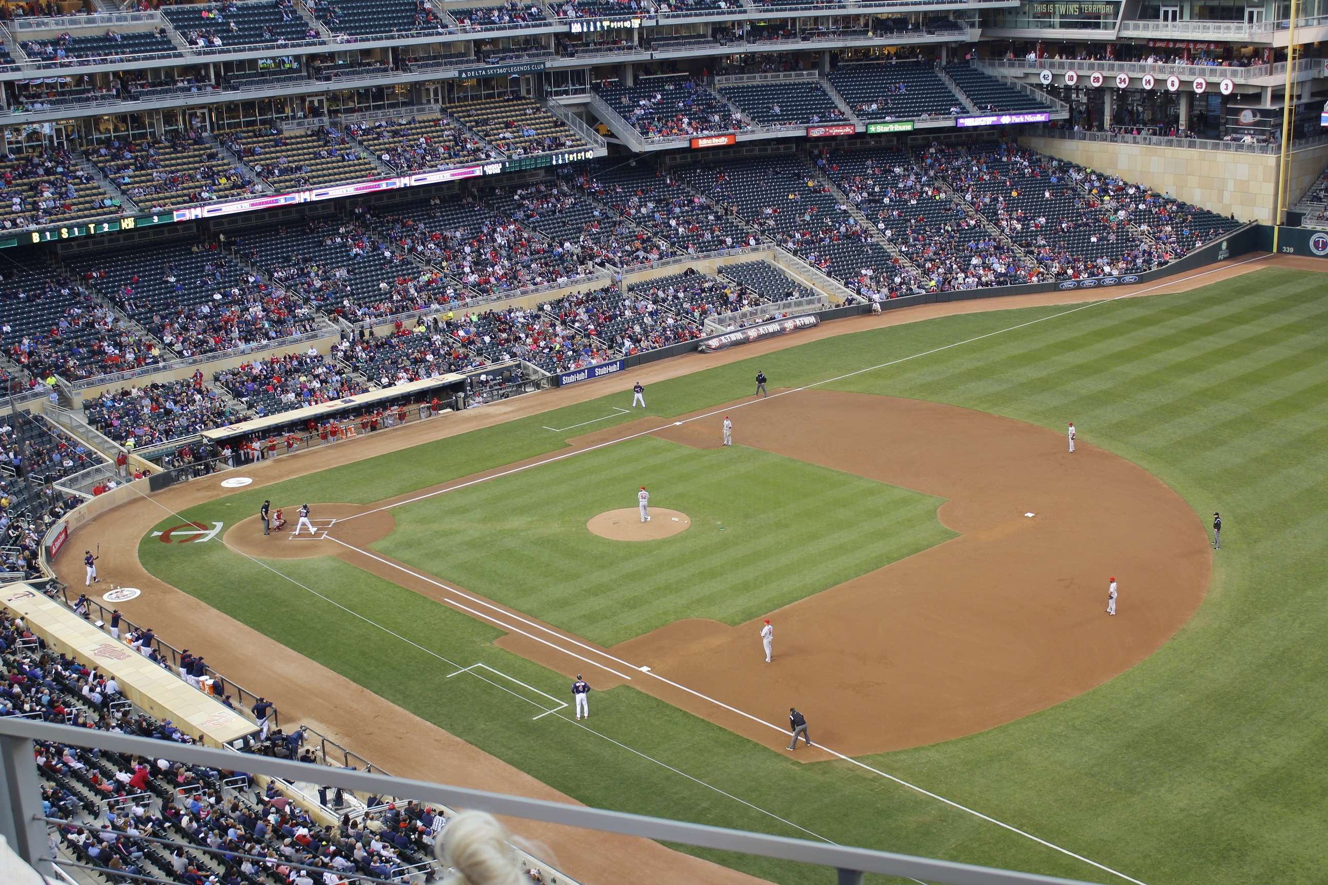 21st stop target field september 5th 2014 montreal on the road