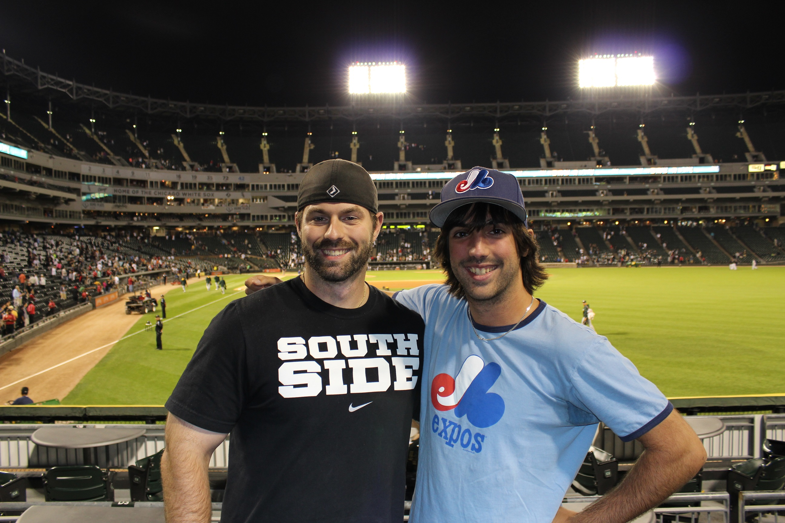 23rd Stop Us Cellular Field September 8th 2014 Montreal On